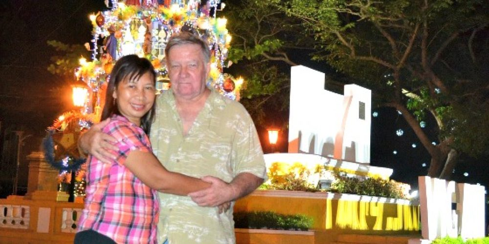 MY DAD AND A FILIPINA